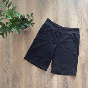 Lululemon Black Shorts with Pockets & Drawstring